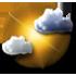 Tullins - 38210 - Lu 25 : Nuages et soleil