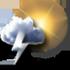 Tullins - 38210 - Sa 30 : Très nuageux, tendance orageuse