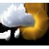 Tullins - 38210 - Sa 28 : Faibles averses ou pluie faible intermittente