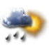 Tullins - 38210 - Di 26 : Averses ou pluie intermittente