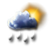 Tullins - 38210 - Me 29 : Fortes averses ou pluie forte intermittente