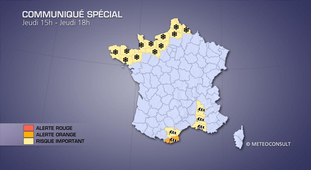 Violents orages jeudi, et canicule en Rhône-Alpes.