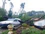 Après la tornade dans le secteur d'Anduze, à Générargues