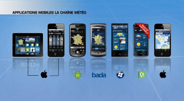 Applications mobiles La Chaîne Météo : du nouveau !